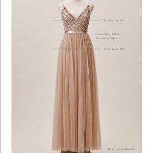 Formal dress in blush
